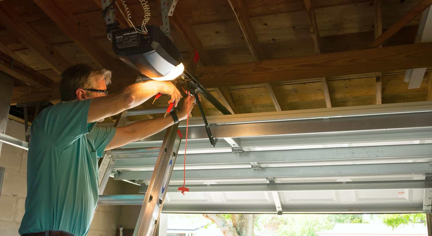 New Garage Door Openers Installed