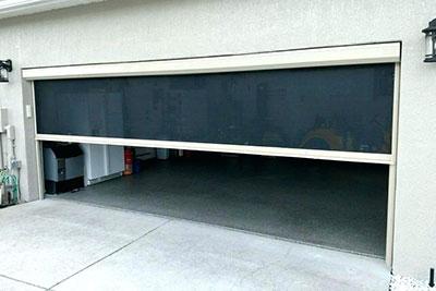 GARAGE DOOR SCREENS