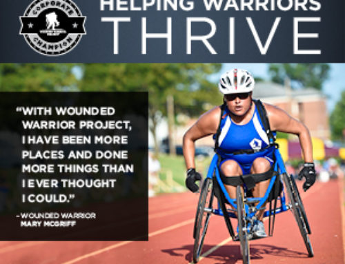 Corporate Champion of Wounded Warrior Project