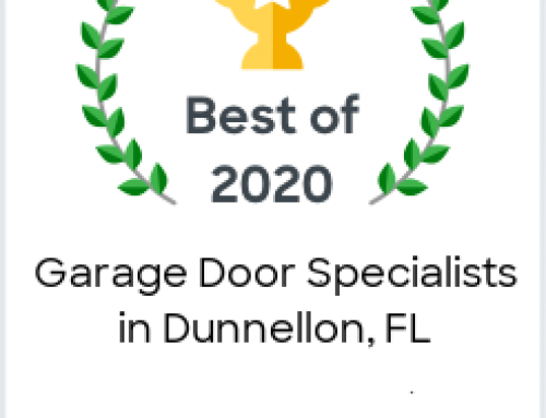 Florida Garage Door Pros Earns 2020 Best of Porch Award